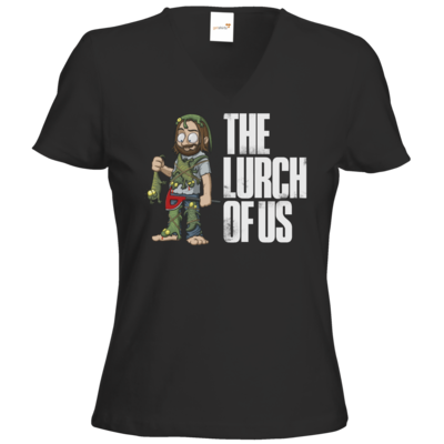Motiv: T-Shirts Damen V-Neck FAIR WEAR - The Lurch of us