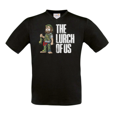 Motiv: T-Shirt V-Neck FAIR WEAR - The Lurch of us