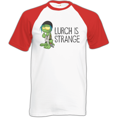 Motiv: Baseball-T FAIR WEAR - Lurch is Strange Chloe