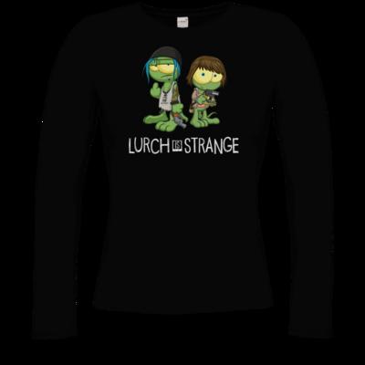 Motiv: Longsleeve Damen Organic - Lurch is Strange Max & Chloe
