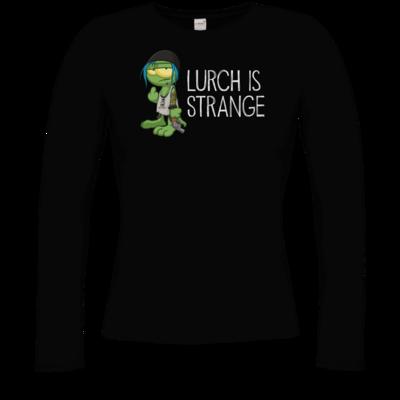 Motiv: Longsleeve Damen Organic - Lurch is Strange Chloe