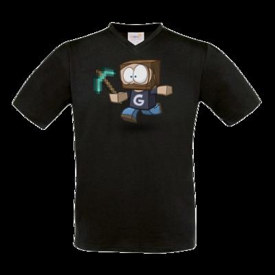 Motiv: T-Shirt V-Neck FAIR WEAR - Gronkhcraft