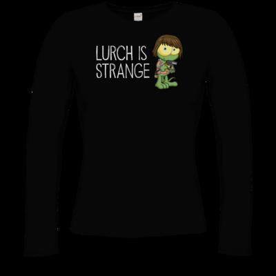 Motiv: Longsleeve Damen Organic - Lurch is Strange Max