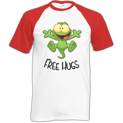 Motiv: Baseball-T FAIR WEAR - FreeHugs