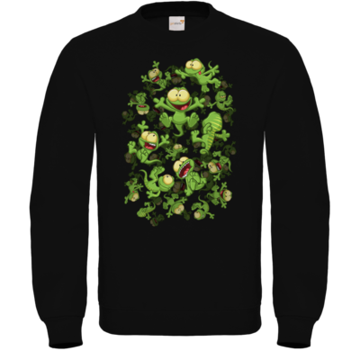 Motiv: Sweatshirt FAIR WEAR - Lurchregen