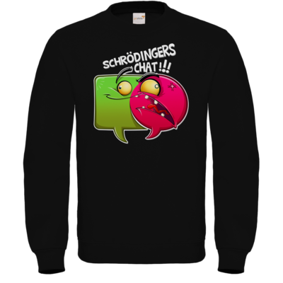 Motiv: Sweatshirt FAIR WEAR - Schroedingers Chat