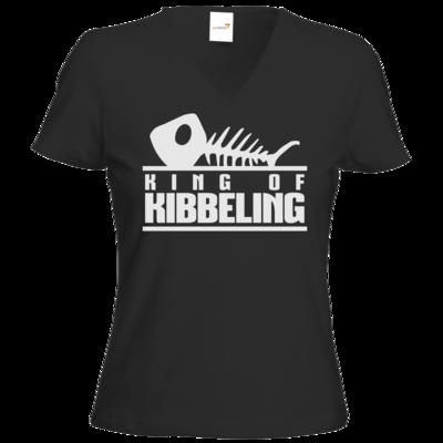 Motiv: T-Shirts Damen V-Neck FAIR WEAR - Dead by Daylight - King of Kibbeling