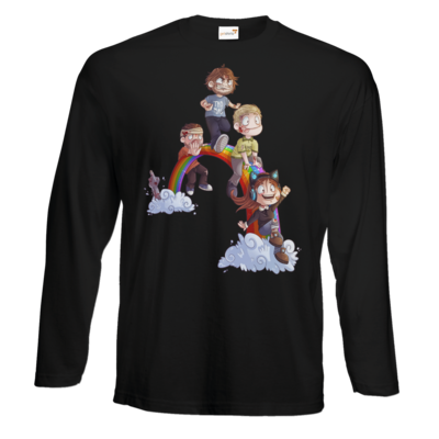 Motiv: Exact 190 Longsleeve FAIR WEAR - Dead by Daylight - Regenbogen