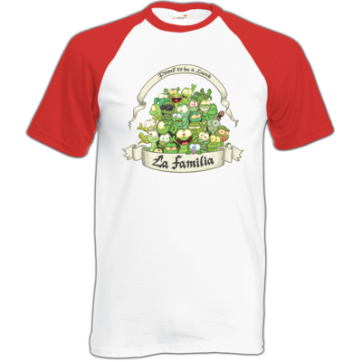 Motiv: Baseball-T FAIR WEAR - LaFamilia