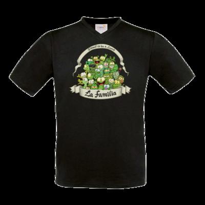 Motiv: T-Shirt V-Neck FAIR WEAR - LaFamilia