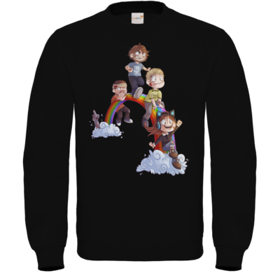 Motiv: Sweatshirt FAIR WEAR - Dead by Daylight - Regenbogen