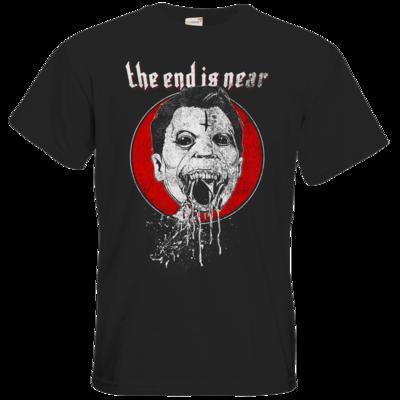 Motiv: T-Shirt Premium FAIR WEAR - the end is near