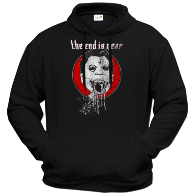Motiv: Hoodie Premium FAIR WEAR - the end is near