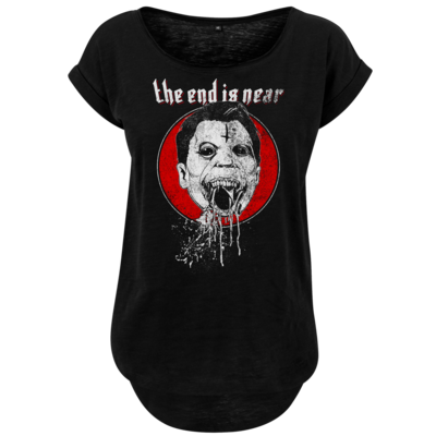 Motiv: Ladies Long Slub Tee - the end is near