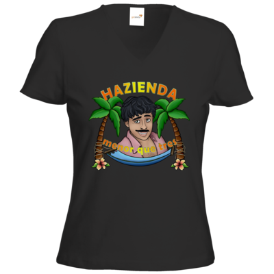 Motiv: T-Shirts Damen V-Neck FAIR WEAR - AlocaNegra - Juan