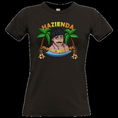 Motiv: T-Shirt Damen Premium FAIR WEAR - AlocaNegra - Juan