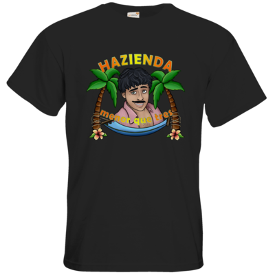 Motiv: T-Shirt Premium FAIR WEAR - AlocaNegra - Juan