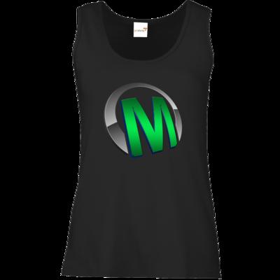 Motiv: Tank Top Damen Classic - Macho - Logo - Grün