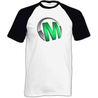 Motiv: TShirt Baseball - Macho - Logo - Grün