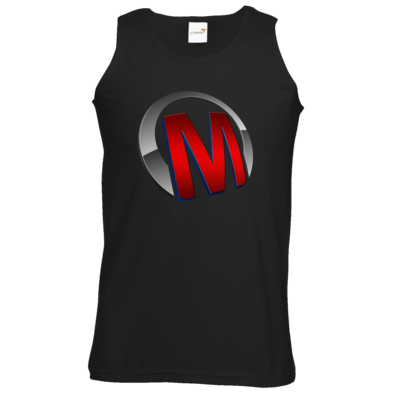 Motiv: Athletic Vest - Macho - Logo - Rot