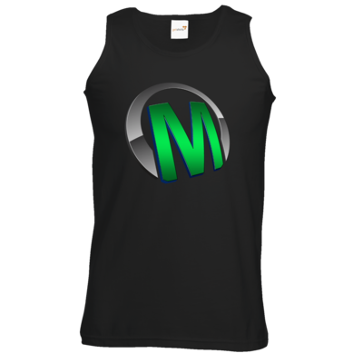 Motiv: Athletic Vest - Macho - Logo - Grün