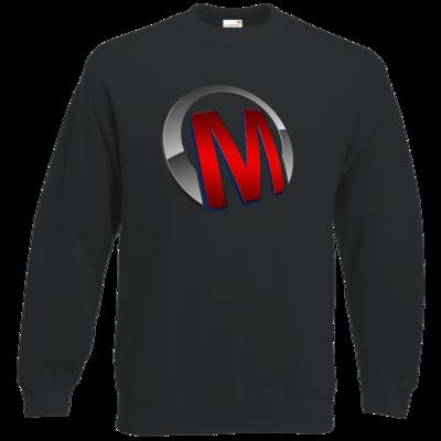 Motiv: Sweatshirt Classic - Macho - Logo - Rot