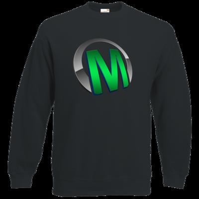 Motiv: Sweatshirt Classic - Macho - Logo - Grün