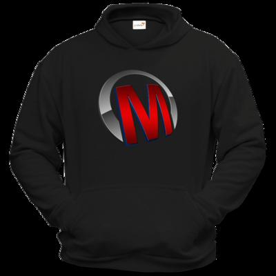 Motiv: Hoodie Classic - Macho - Logo - Rot