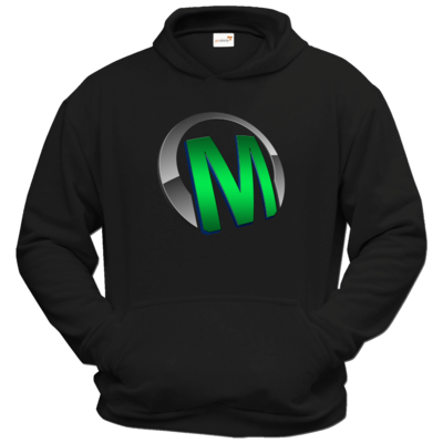 Motiv: Hoodie Classic - Macho - Logo - Grün