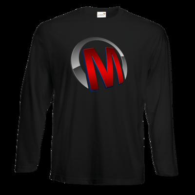 Motiv: Exact 190 Longsleeve FAIR WEAR - Macho - Logo - Rot