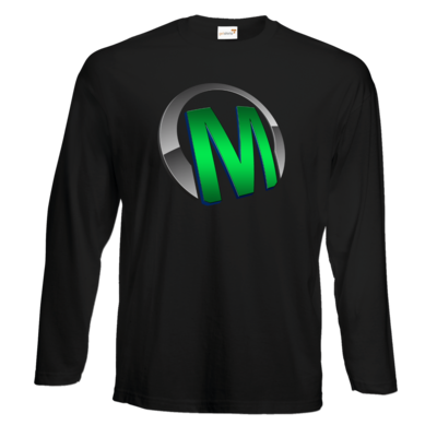 Motiv: Exact 190 Longsleeve FAIR WEAR - Macho - Logo - Grün