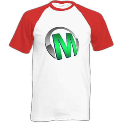 Motiv: Baseball-T FAIR WEAR - Macho - Logo - Grün
