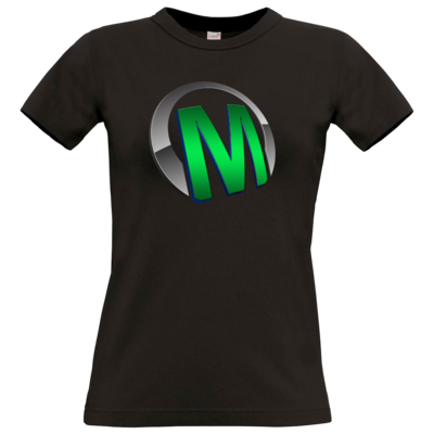 Motiv: T-Shirt Damen Premium FAIR WEAR - Macho - Logo - Grün