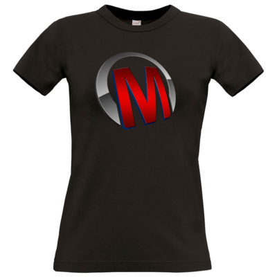 Motiv: T-Shirt Damen Premium FAIR WEAR - Macho - Logo - Rot