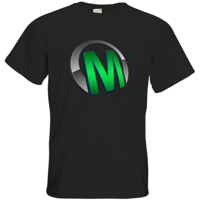 Motiv: T-Shirt Premium FAIR WEAR - Macho - Logo - Grün
