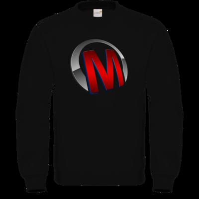 Motiv: Sweatshirt FAIR WEAR - Macho - Logo - Rot