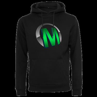 Motiv: Heavy Hoodie - Macho - Logo - Grün