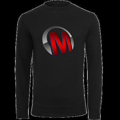 Motiv: Light Crew Sweatshirt - Macho - Logo - Rot