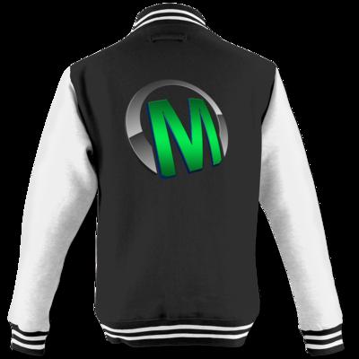 Motiv: College Jacke - Macho - Logo - Grün