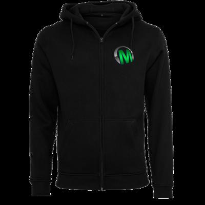 Motiv: Heavy Zip-Hoodie - Macho - Logo - Grün