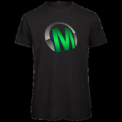 Motiv: Organic T-Shirt - Macho - Logo - Grün