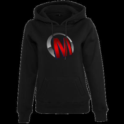 Motiv: Womens Heavy Hoody - Macho - Logo - Rot