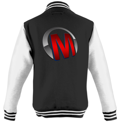 Motiv: College Jacke - Macho - Logo - Rot
