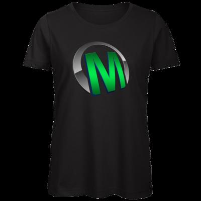 Motiv: Organic Lady T-Shirt - Macho - Logo - Grün