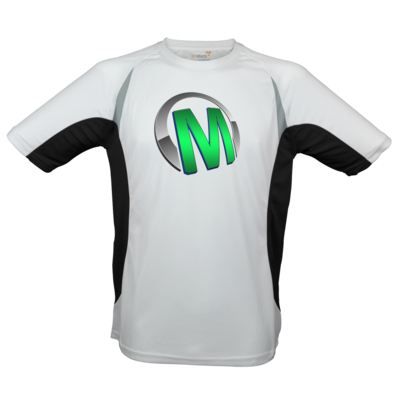 Motiv: Laufshirt Running T - Macho - Logo - Grün