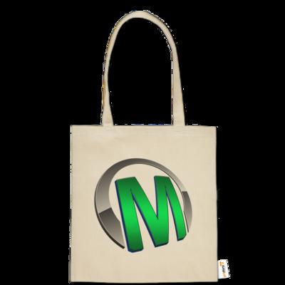 Motiv: Baumwolltasche - Macho - Logo - Grün