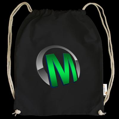 Motiv: Cotton Gymsac - Macho - Logo - Grün