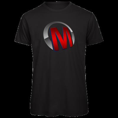 Motiv: Organic T-Shirt - Macho - Logo - Rot
