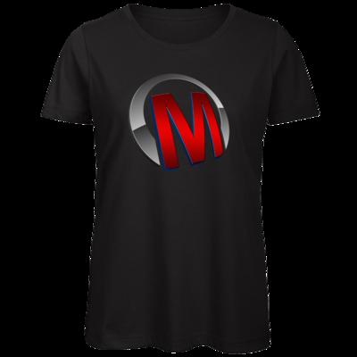 Motiv: Organic Lady T-Shirt - Macho - Logo - Rot