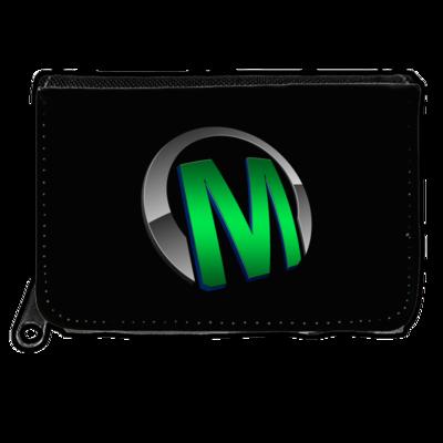 Motiv: Geldboerse - Macho - Logo - Grün